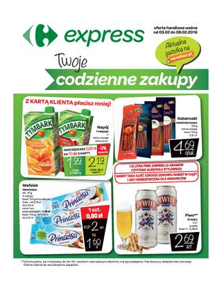 Carrefour Express: 3 gazetki