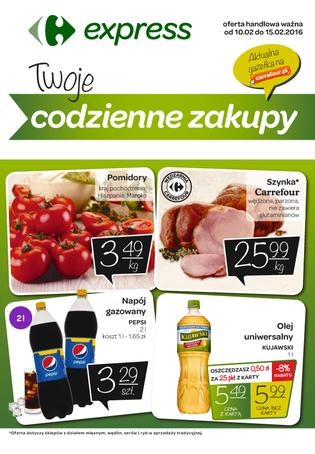 Carrefour Express: 1 gazetka