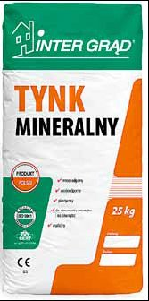 Tynk mineralno-syntetyczny INTER GRĄD