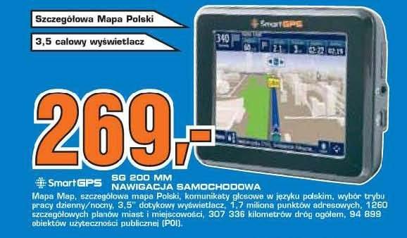 smart GPS SG 200 MM Nawigacja samochodowa