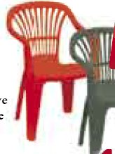 Krzesło plastikowe ogrodowe