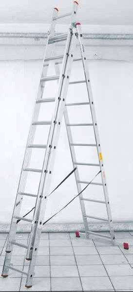 Archiwum drabina aluminiowa trzyelementowa corda krause for Tende corda leroy merlin