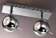 Listwa halogenowa 2 x 50W - seria reflektorków HARY