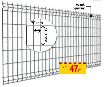 Panel ogrodzeniowy cena