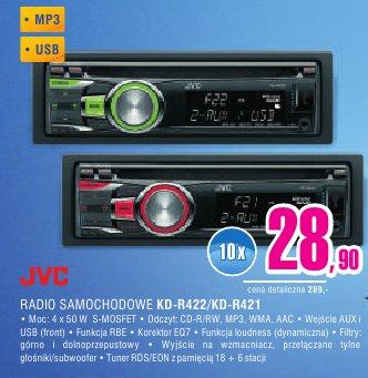 archiwum jvc radio samochodowe kd r422 kd r421 mix. Black Bedroom Furniture Sets. Home Design Ideas