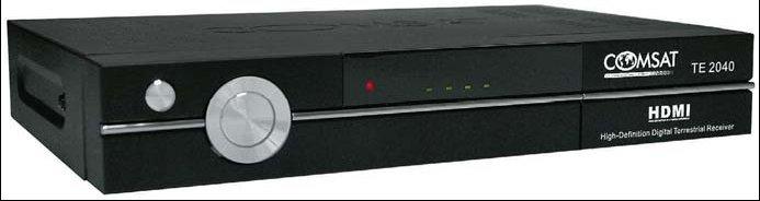 Dekoder cyfrowy Comsat TE2040 DVB-T MPEG-4HD