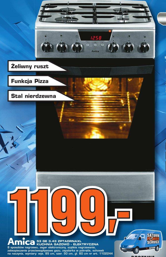 Archiwum  Amica kuchnia gazowo elektryczna  Saturn 23 02 2012  29 02 2   -> Kuchnia Gazowo Elektryczna Amica Media Expert