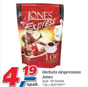 Herbata ekspersowa JONES