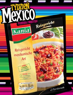 Danie z ryżem po meksykańsku