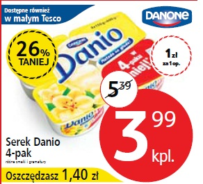 Serek Danio 4-pak