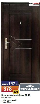 Drzwi wewnątrzklatkowe RA 10
