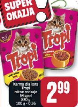 Karma dla kota Tropi Mispol