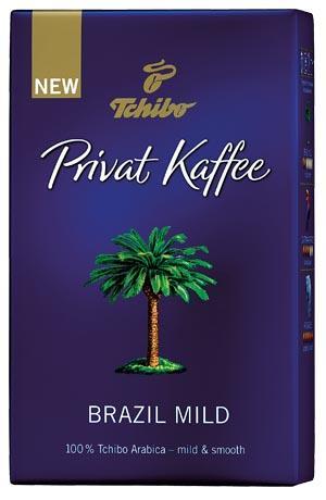 Kawa mielona Tchibo Privat Kaffe różne rodzaje 250 g cena za 1 kg = 46,36 Cena: 11,59 PLN