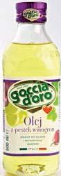 Olej z pestek winogron Goccia D'Oro
