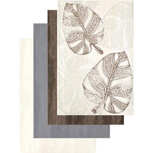 Płytki ścienne susana  wym. 30 x 45 cm, kolory: white, grey i brown