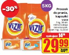 Proszek do prania, kapsułki VIZIR 5 kg, 38 szt. różne rodzaje
