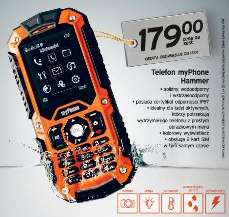 Telefon myPhone Hammer