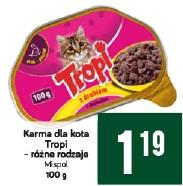 Karma dla kota Tropi – różne rodzaje Mispol