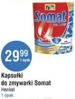 Kapsułki do zmywarki SOMAT