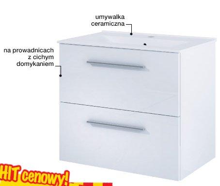 Zestaw szafka z umywalką KATALONIA 2S SENSEA