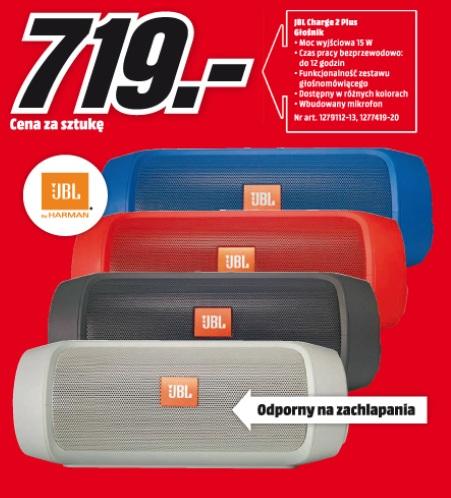 archiwum jbl charge 2 plus g o nik media markt 27 07. Black Bedroom Furniture Sets. Home Design Ideas