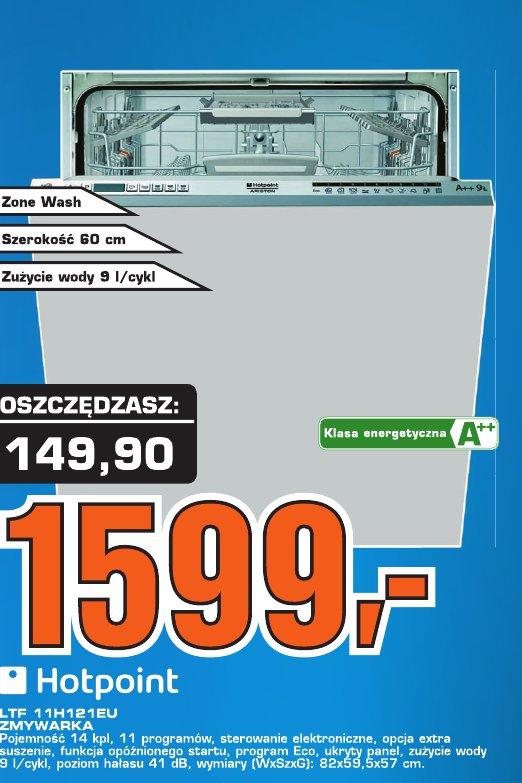 Hotpoint  LTF 11H1216U Zmywarka