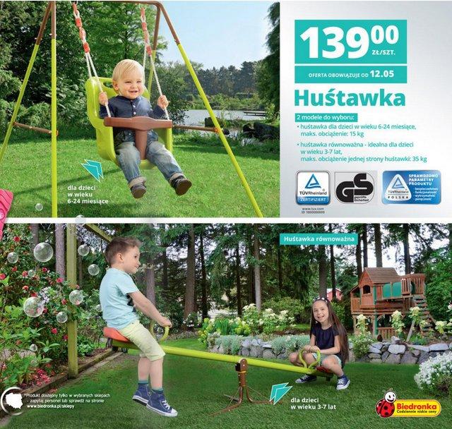 Archiwum  Huśtawka  Biedronka 12 05 2014  25 05 2014