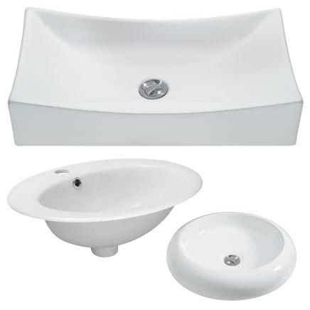Obi umywalki nablatowe