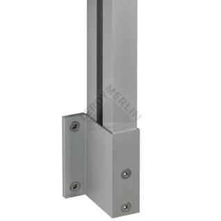 System do budowy balustrad - pakiet uzupełniający PROVA ALU BASIC 91 DOLLE