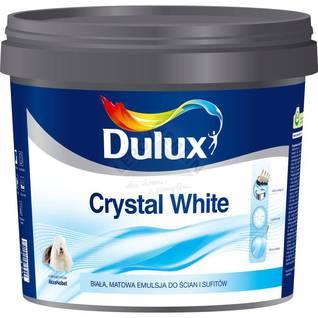 Farba akrylowa do ścian i sufitów CRYSTAL WHITE DULUX