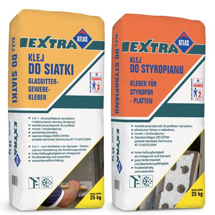 Klej do styropianu Atlas Extra