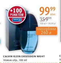 CALVIN KLEIN OBSESSION NIGHT Woman edp.,
