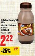 Mleko Candy'Up Uht różne rodzaje Candia
