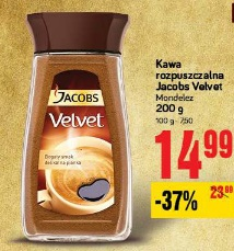 Kawa rozpuszczalna Jacobs Velvet Mondelez