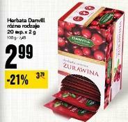 Herbata Danvill różne rodzaje 20 exp.x 2 g