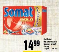 Tabletki do zmywarek Somat Gold Henkel