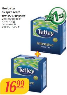 Herbata ekspresowa Tetley Intensive