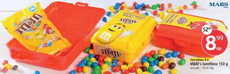 M&M's lunchbox 150 g