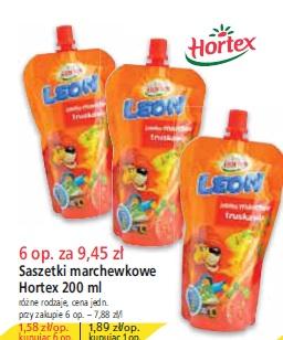 Saszetki marchewkowe Hortex 200 ml