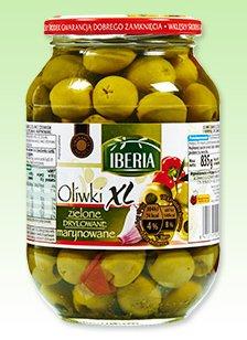 Oliwki zielone drylowane XL Iberia
