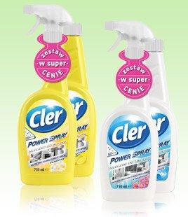 Cler Power Spray, 2x750 ml