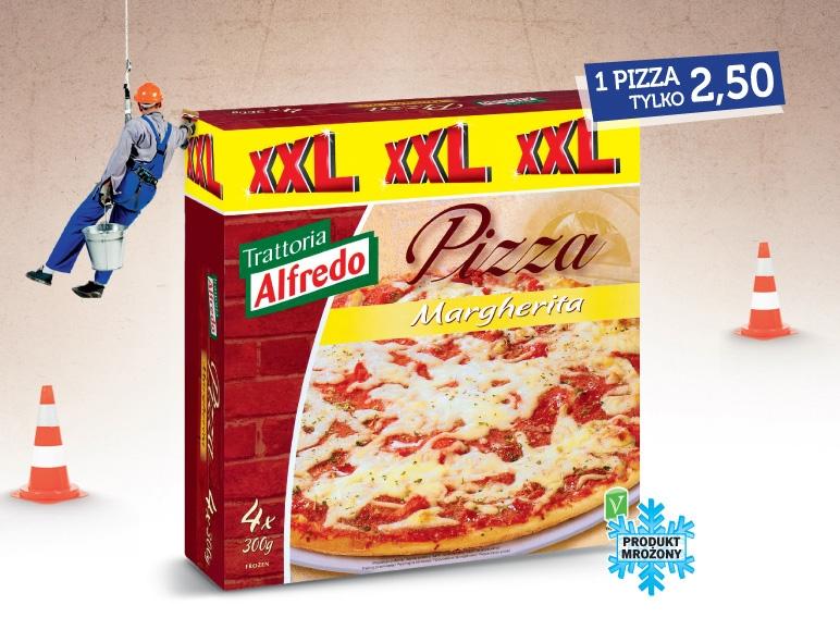 Pizza Margherita XXL, 4x300 g
