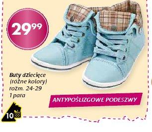 Buty dziecięce (różne kolory) rozm. 24-29