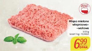 Mięso mielone wieprzowo- -wołowe