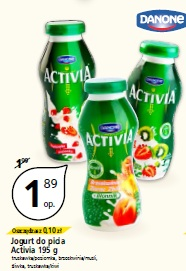Jogurt do picia Activia 195 g