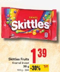 Skittles Fruits Kramel Invest