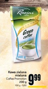 Kawa zielona mielona Coffee Promotion