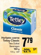 Herbata czarna Tetley Classic Tata Global Beverages