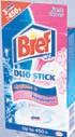 Żelowe plastry do WC Bref Duo Stick