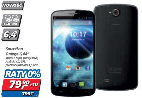 "Smartfon Omega 6,44"""